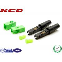 Wholesale Fiber Optic Field Assembly Connector SC / APC High Efficiency For  3.0 MM Cables from china suppliers