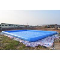 Wholesale 0.9mm PVC Tarpaulin Giant Inflatable Rectangular Water Swimming Pools For Water Park from china suppliers