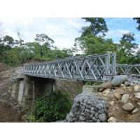 Wholesale Highly Mobile Modular Simple Truss Bridge , Temporary Steel Long Suspension Bridges from china suppliers