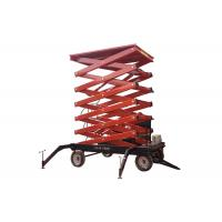 Wholesale Outdoor self propelled elevating work platforms Color customized For Aerial Work from china suppliers
