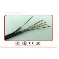 Wholesale Self Supporting Ethernet Network Cable Cat6 4 Pairs 8 Cores With Steel Wire from china suppliers