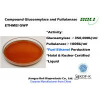 Buy cheap Glucoamylase and Pullulanase Blended Enzyme ETHMEI GWP For Fuel Ethanol from wholesalers