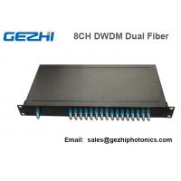 Wholesale 100Ghz Fiber Optical DWDM Mux Demux Module with 1U Plug-in Rackmount from china suppliers