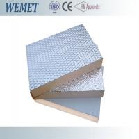 Wholesale 20MM HVAC air duct fire retardant phenolic foam insulation board with aluminum foil from china suppliers