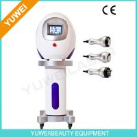 "Wholesale Best ultrasonic cavitation machine with 3 Handles 5.6"" color touch-screen from china suppliers"