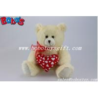 Wholesale Personalized Valentines day Teddy Bear With Red Heart Pillow from china suppliers