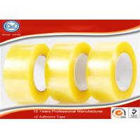Wholesale Transparent BOPP Adhesive Packaging Tape , Commercial Grade Heavy Duty Packing Tape from china suppliers