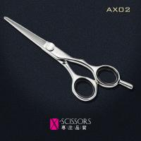 Wholesale Hairdressing Scissors of Japanese 440C Steel. Convex Edge Quality hair shear AX02 from china suppliers