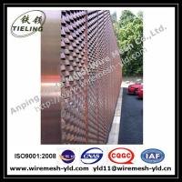 Wholesale Ornamental & Decorative Expanded metal for wall facade from china suppliers
