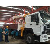 Wholesale Telescopic Boom Truck Mounted Crane / 12 Tons Cargo Mounting Crane ZZ1257M4341W from china suppliers