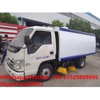 Wholesale HOT SALE! customized good price Forland 4*2 RHD 108hp smaller diesel road sweeper truck, street sweeping vehicle from china suppliers