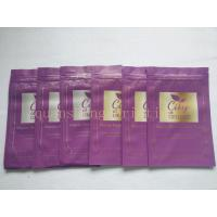 Wholesale Aluminum Foiled Oxygen Resistance Three Side Seal Bags With Zipper Customized from china suppliers