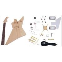 Wholesale Unfinished DIY Electric Guitar Kits , Flying Style Double Humbucker Guitar AG-FV3 from china suppliers