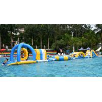 Wholesale Inflatable Floating Water Park / Inflatable Water Sport Games For Pool from china suppliers