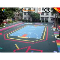 Quality Weather Resistance Basketball Sport Court Flooring Better Than Wooden for sale