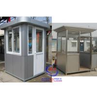 Wholesale Simple Customized Prefabricated Sentry Box Used In Police Station from china suppliers