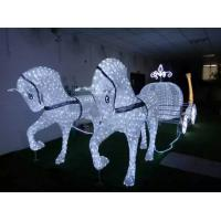 Wholesale Led christmas horse carriage cinderella carriage from china suppliers