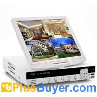 Wholesale 10 Inch Screen 4 Channel DVR (H.264, D1 Resolution, HDMI) from china suppliers