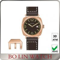 Wholesale Deep Diving Black And Bronze Watches For Mens Customised Brand from china suppliers