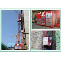 Wholesale Temporary Rack And Pinion Building Hoist , Industrial Lifting Hoist Equipment from china suppliers