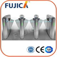 Wholesale Biometrics Access Control Office Building Flap Barrier Turnstile from china suppliers