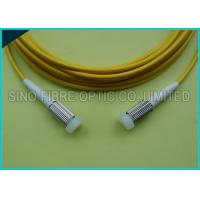Wholesale 2.0mm Duplex Zip Cord D4 Connector SM Yellow Fiber Optic Patch Cable from china suppliers