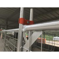 Wholesale 1990x2495mm steel sign temporary fencing panels buildsafe panels from china suppliers