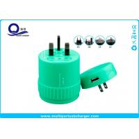 Wholesale 5V 1A Output Rotating USB Universal Travel Adapter , USB Travel Voltage Converter from china suppliers