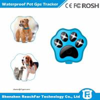 Quality Portable cheap smallest real time gps pet tracker with one year battery and voice monitoring for sale