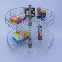 Wholesale 360 degree corner turning basket kitchen accessories from china suppliers