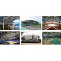 Economical steel structure football stadium for sport hall