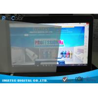 Wholesale Lightbox Front Print Backlit Film 165 Micron , Matte Inkjet Backlit Film Scuff Resistant from china suppliers