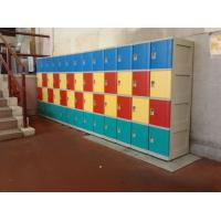 Wholesale Graffiti Proof 4 Tier Yellow Plastic School Lockers No On - Site Assembly from china suppliers