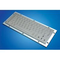 Wholesale ZT599A  Kiosk Metal Keyboard with 64 Stainless Keys from china suppliers