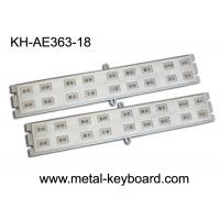Wholesale Customized 18 Keys StainlesssteelKeyboard for Door Access System from china suppliers