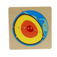 Wholesale Tiger Montessori -- Solar Core puzzle Dimension: 24*24*2cm made of mdf from china suppliers