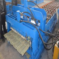 Wholesale Trustworthy brand CE ISO certification glazed iron roofing sheet making machine from china suppliers