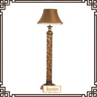 Wholesale high quality resin floor lamp with luxury shade hot sell in North America market 10555BW from china suppliers