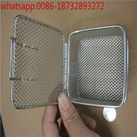 Wholesale disinfection basket of aluminium alloy,304 wire mesh basket hospital disinfect basket perforated basket from china suppliers