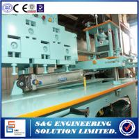 Quality 60mm False Ceiling Channel Making Machine , Metal Forming Machinery By Chains for sale