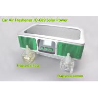 Wholesale OEM 12V DC Green Silver Jasmine Solar Power Custom Car Air Fresheners with 360g from china suppliers