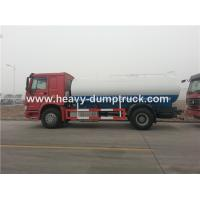 Quality Sinotruk Heavy Duty 10cbm Water Delivery Trucks , WD615.87290 Euro II Emission Standard for sale