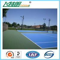 Wholesale Blue Silicon Polyurethane Sports Flooring Sandwich System Outdoor Basketball Court Surface from china suppliers