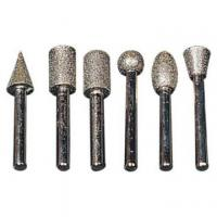 Quality brazed/sintered diamond core drill bits for stone carving/engraving/drilling for sale