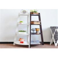 Wholesale Freestanding Storage Rack Shelf Wooden Corner Display Shelf With 4 Tier from china suppliers