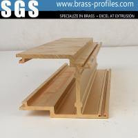 Wholesale Durable Decorative Copper Brass Profiles Brushing Brass Sections from china suppliers