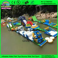 Wholesale 2017 New Design Giant Commercial Adult Lake Amusement Water Park Inflatable Sea Floating Aqua Park from china suppliers