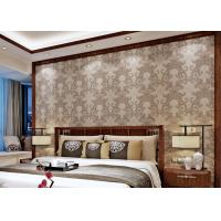 Wholesale Washable Damask Vintage Wallpaper / Damask Wall Covering For Living Room Walls from china suppliers