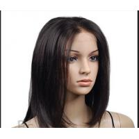 Wholesale Straight Remy Human Hair Front Lace Wigs With Baby Hair Around from china suppliers