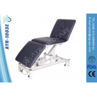 Wholesale Three Function Adjustable Electric Examination Medical Massage Table Black from china suppliers